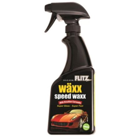FLITZ PREMIUM POLISHING PRODUCTS MX 32806 16 Oz. Wax Spray