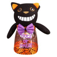Halloween Decoration Black Cat Witch Candy Bottle Halloween Decorations Children's Gifts Home Decoration Accessories Bottle