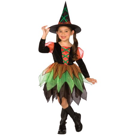 Girls Witch Costume - Costume Apple