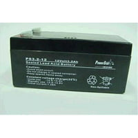 PowerStar ps12-3.3-200 12V 3.5Ah SLA Battery Replaces BP3-12 BP3.6-12 CF12V2.6 CFM12V3 CP1232