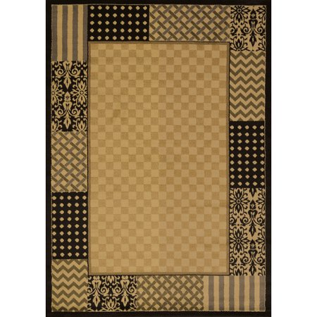 Winston Porter Bahr Country Kitchen Ivory Area Rug