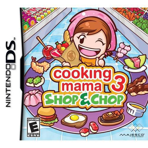 Cooking Mama 3 Shop & Chop (DS) - Pre-owned