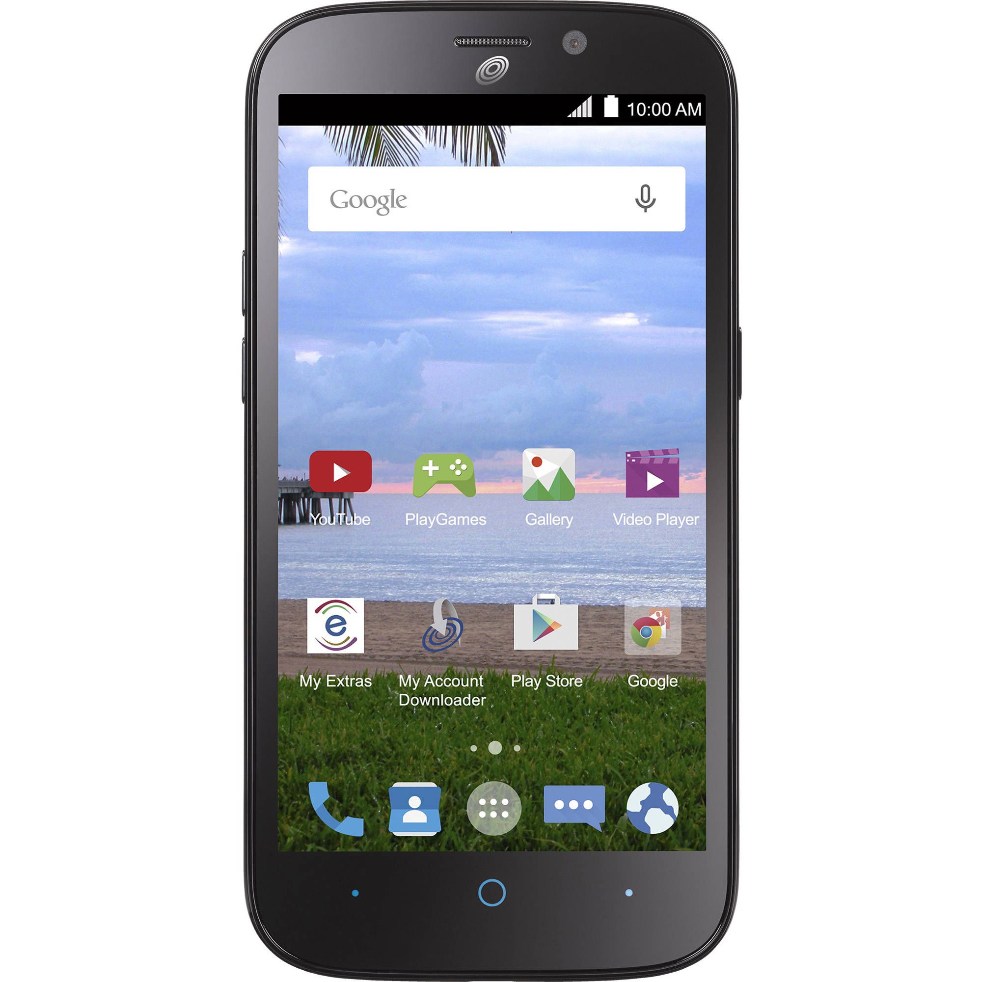Net10 ZTE Allstar 4G LTE Prepaid Smartphone