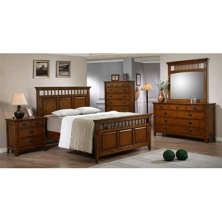 5 pc eco friendly tremont king bedroom set