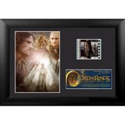 Trend Setters Lord of the Rings: The 2 Towers Mini FilmCell Presentation Framed Vintage Advertisement