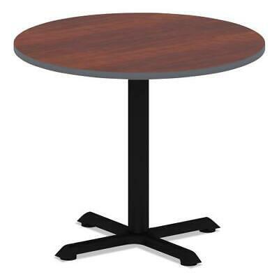 Reversible Laminate Table Top, Round, 35 1/2 dia., Medium Cherry/Mahogany