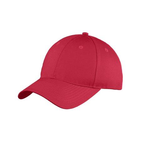 Top Headwear Six-Panel Unstructured Twill Cap