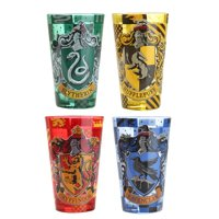 Harry Potter Houses 4pc 16oz Colored Pint Glass Set
