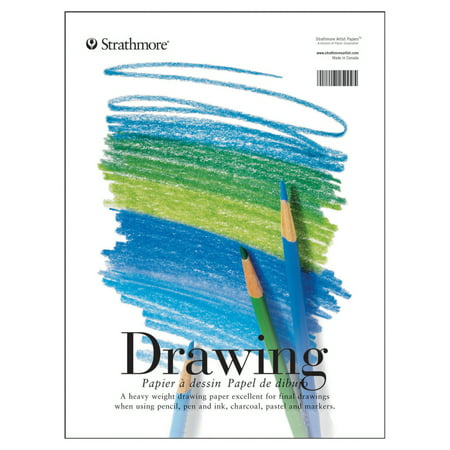 Strathmore Drawing Paper Pad, 200 Series, 11