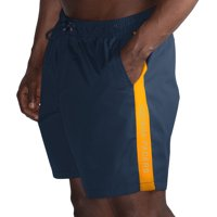 Indiana Pacers G-III Sports by Carl Banks Volley Swim Trunks - Navy/Gold