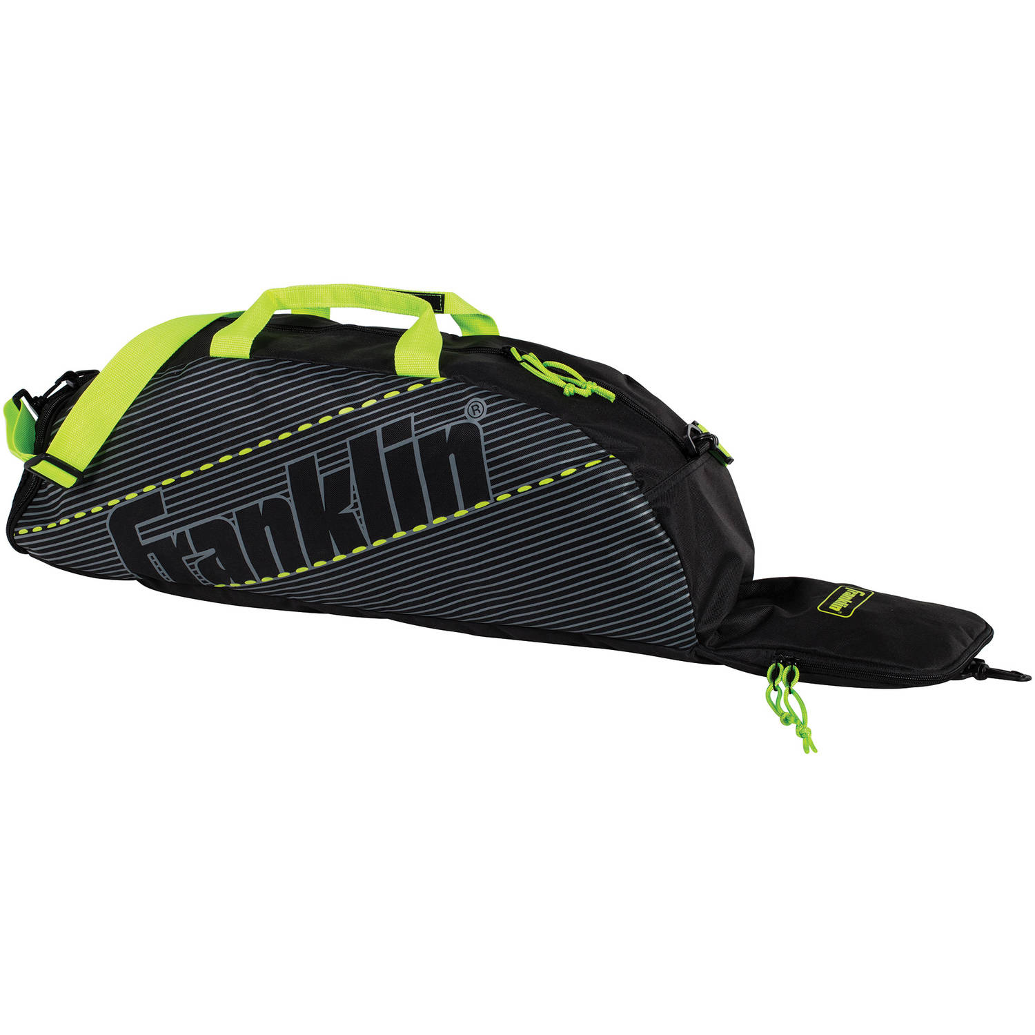 Franklin Sports Youth Equipment Bag, Lime Green