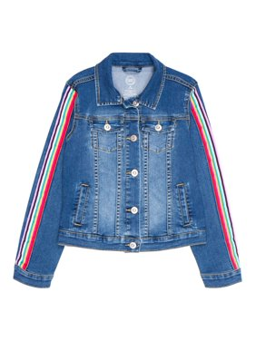 Wonder Nation Embellished Denim Jacket (Little Girls, Big Girls & Plus)