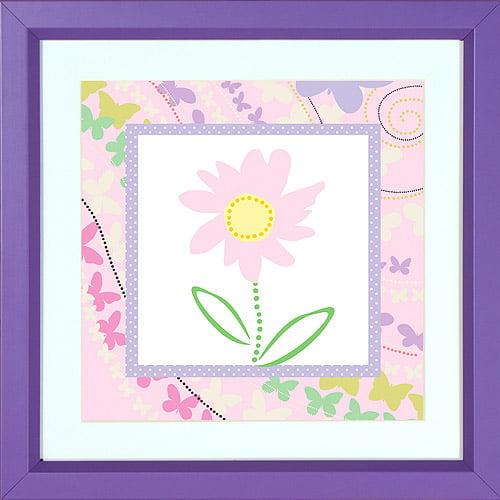 Disney Pink Flower Ii Wall Decor