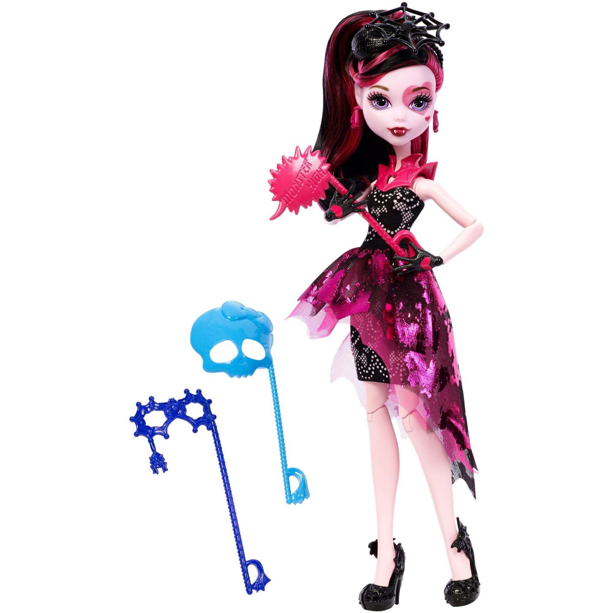 Monster High Welcome to Monster High Dance the Fright Away Draculaura Doll by Mattel