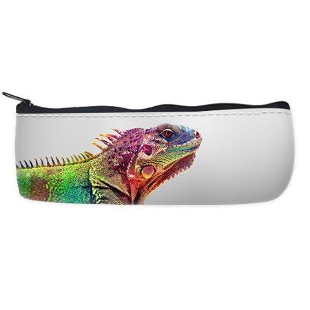 POPCreation Wildlife Animal School Pencil Case Pencil Bag Zipper Organizer Bag