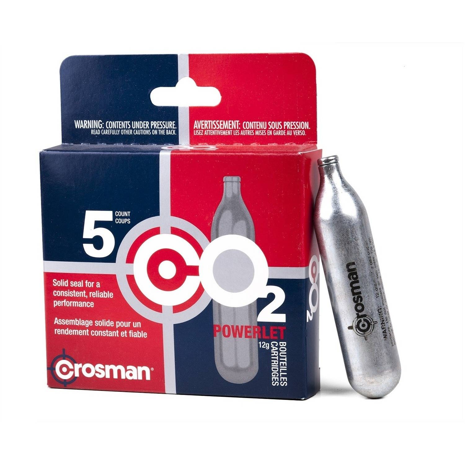 Crosman 5ct Box of CO2 Powerlets