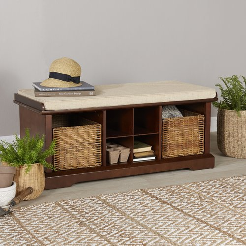 Breakwater Bay Selbyville Storage Entryway Bench