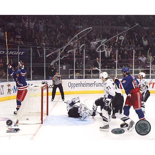 Steiner Sports Scott Gomez Celebrating Goal Versus Lightning Autographed Photograph