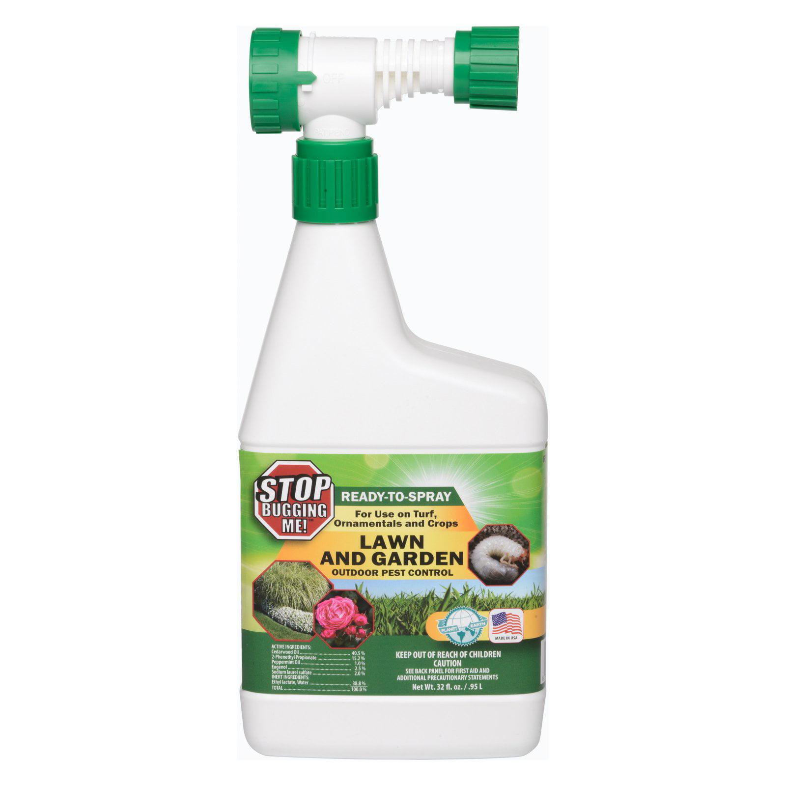 Stop Bugging Me 32 oz. Lawn ; Garden Pest Control Concent...