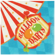 Carnival Games Lunch Party Napkins, 40ct, Great for Birthday Parties