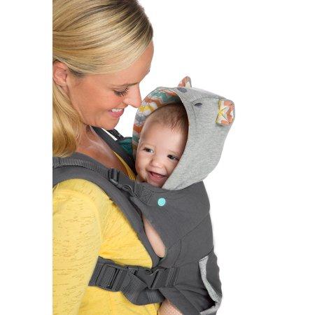e1db11c79b4 Infantino Cuddle Up Ergonomic Hoodie Carrier - Walmart.com