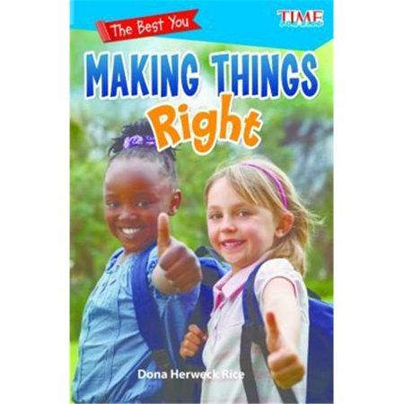 Shell Education 28015 the Best You Making Things Right Book - image 1 of 1