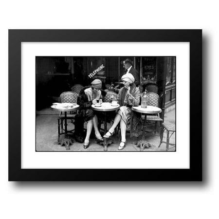 Cafe et Cigarette, Paris, 1925 36x28 Framed Art Print by Viollet, Roger