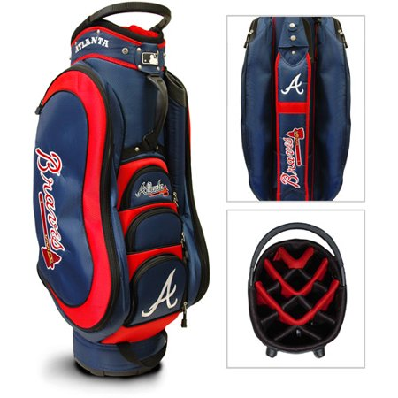 Team Golf MLB Atlanta Braves Medalist Golf Cart Bag