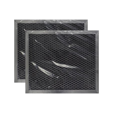 2 PACK 8 X 9-1/2 X 3/8 Range Hood Charcoal Carbon Filters AFF87-CH by Air Fil... Carbon Range Hood Filter