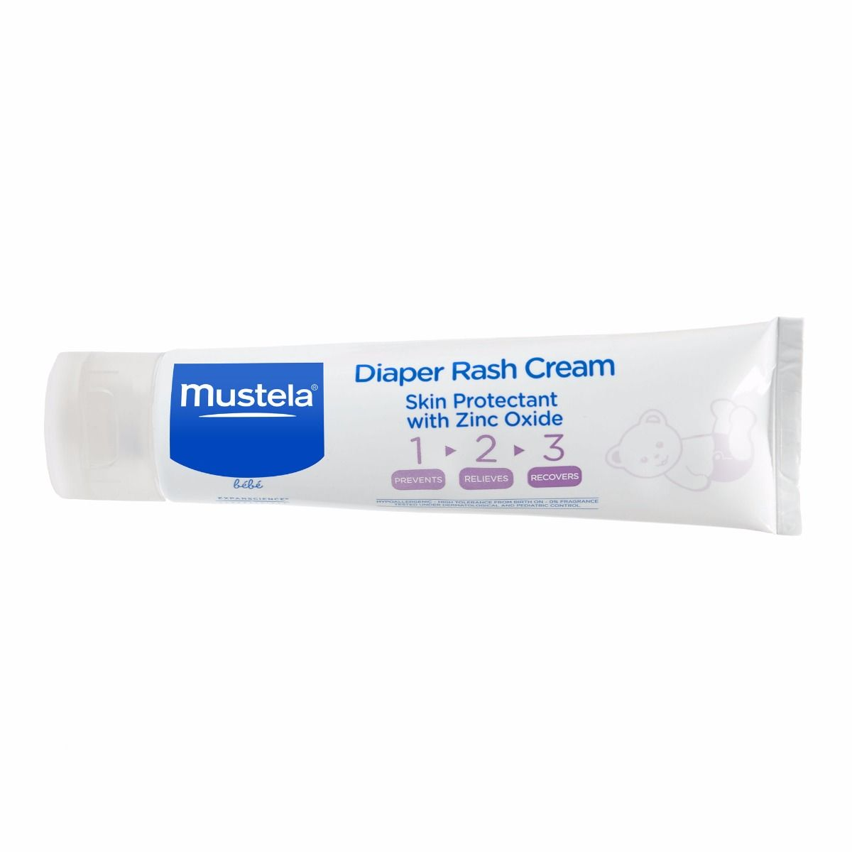 Mustela Baby 123 Diaper Rash Cream, Skin Protectant, 3.8 Oz by Mustela