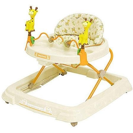 Baby Trend Baby Activity Walker with Toys, Kiku with High-back Padded Seat by Quality Brand