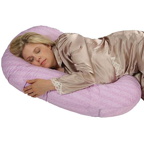 Sleeper Keeper Mini Maternity Pillow by Leachco, Vintage Lilac