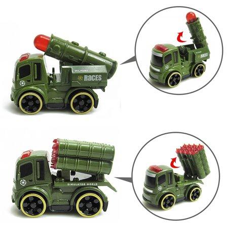 LeKing Équipe spéciale artillerie inertielle missile voiture éjection avion homme manette de jeu jouet 31 ensembles - image 6 de 9