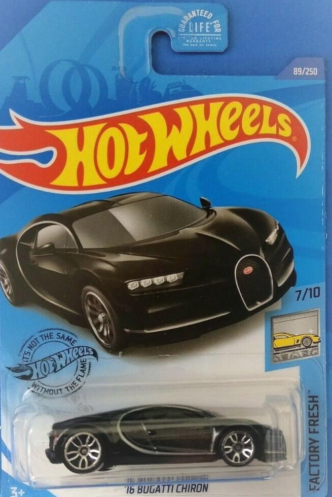 Hot Wheels 16' BUGATTI CHIRON Black NEW *FREE SHIP