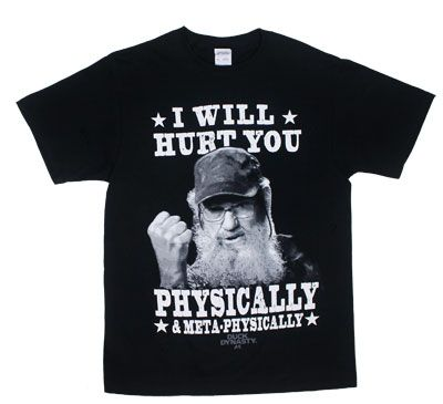 Changes Men's Duck Dynasty Hurt You T-Shirt