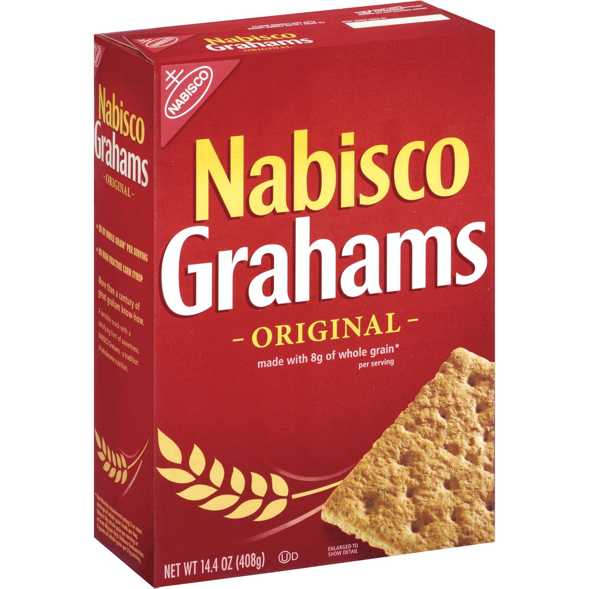 Nabisco Grahams Original Graham Crackers, 14.4 oz