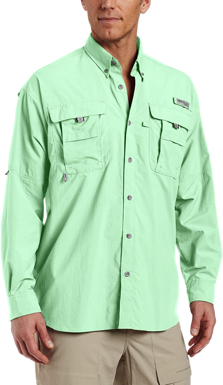 Columbia: Men's PFG Bahama II Long Sleeve Shirt! .22-.24 at WOOT!