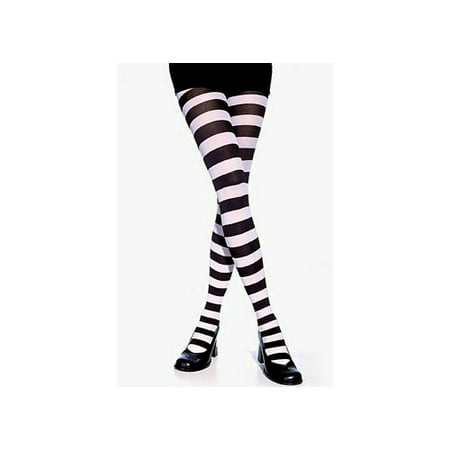 Wide Striped Tights 7110