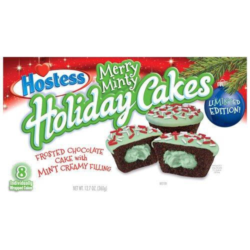 Hostess Merry Minty Holiday Cakes, 8 ct, 12.7 oz