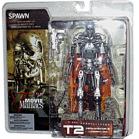 Movie Maniacs Series 5 T-800 Endoskeleton Action Figure, T-800 ENDOSKELETON MOVIE MANIACS 5 By Terminator Ship from