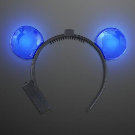FlashingBlinkyLights LED Mouse Ears Headband