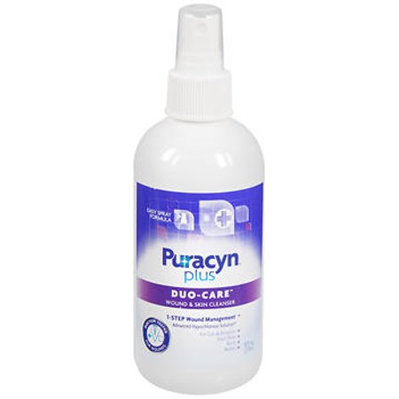 Puracyn Plus Wound and Skin Care Spray, 8 Fluid