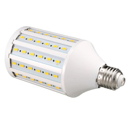 AC 220V 25W E27 Screw Base 90 LEDs SMD 5730 Warm White LED Corn Light Bulb - image 2 de 5
