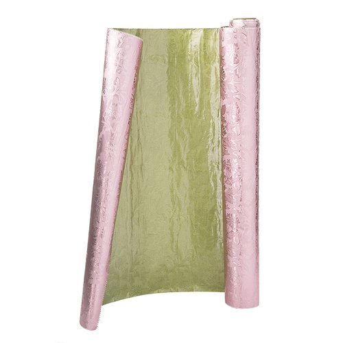 The Holiday Aisle Moss Floral Foil Embossed