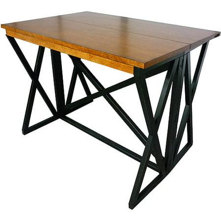 Imagio Home Siena Gate Leg Table  Black And Java