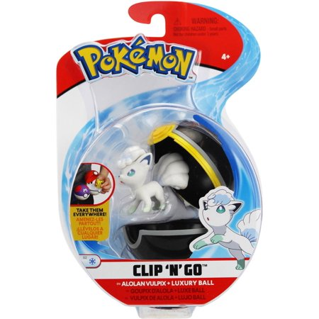 All About Pokemon Figure - Pokemon Clip 'N' Go Alolan Vulpix Figure Set