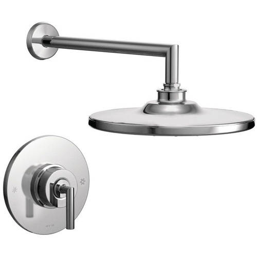Moen TS22002EP Arris Single Handle Posi-Temp Pressure Balanced Shower Trim, Available in Various Colors