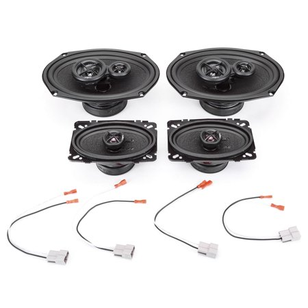 2001-2005 Pontiac Grand Am Complete Premium Factory Replacement Speaker Package by Skar Audio