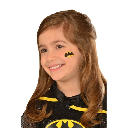 Batgirl Tattoo Halloween Costume Accessory (Cute Halloween Tattoo Flash)