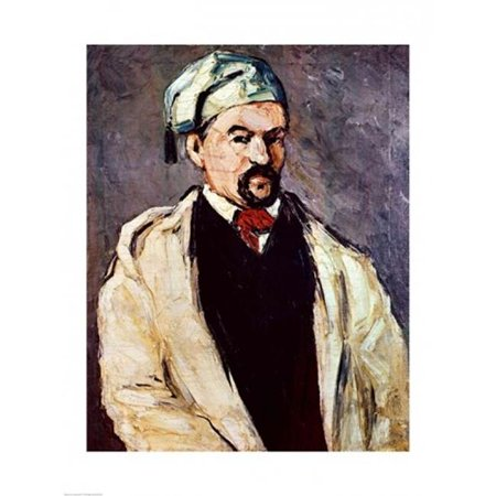 Portrait of A Man in A Blue Cap Poster Print by Paul Cezanne - 24 x 36 in. - Large - image 1 of 1
